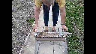 getlinkyoutube.com-Чудо лопата, копалка для огорода, приспособление для копки.