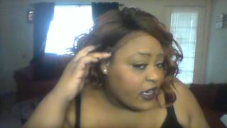 getlinkyoutube.com-ISIS Collection Brown Sugar Soft Swiss Lace Wig BS206