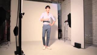 getlinkyoutube.com-Kim Woo Bin & Shin Min Ah for Giordano SS 2015