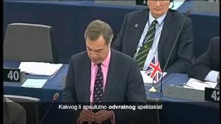Nigel Farage: Sve vas treba najuriti s posla!