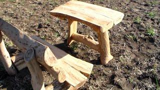 getlinkyoutube.com-Как своими руками из дерева сделать интересный столик!