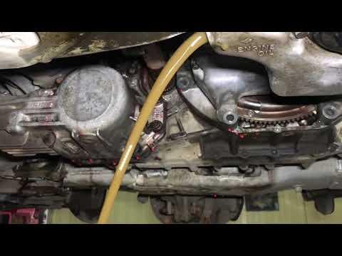 J35A8 Honda Legend слив эмульсии вместо масла ДВС