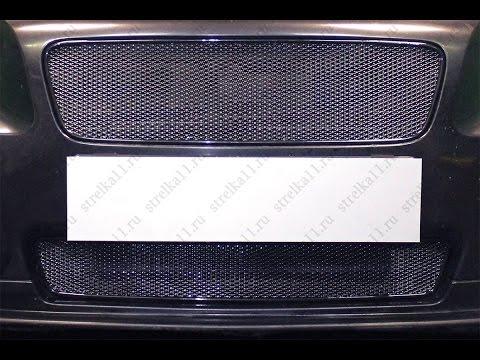 Защита радиатора Premium VOLVO S60 I (рестайлинг) 2004-2010г.в. (Черный) - strelka11.ru