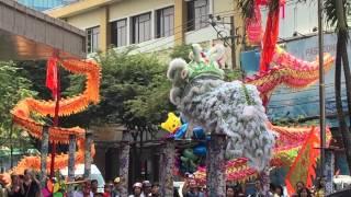 getlinkyoutube.com-Lion Dance HCMC Vietnam 2015
