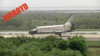 getlinkyoutube.com-Space Shuttle Discovery Landing STS-119