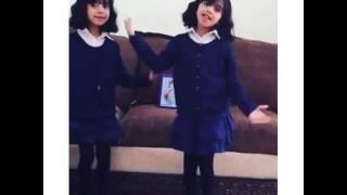 getlinkyoutube.com-رقص لجين والجوري ع راما شيخة البنات