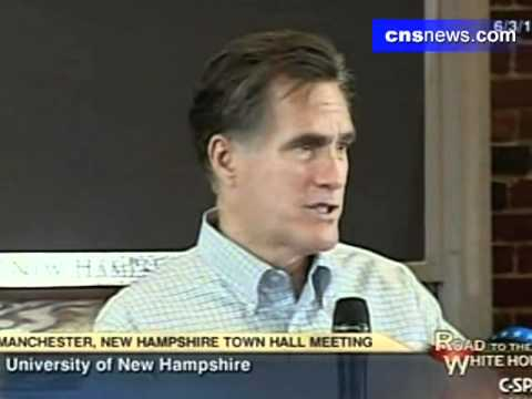 Romney: Global Warming Is Real, Humans Have Impact