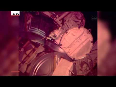Water Leak in Astronaut Helmet Cuts Spacewalk