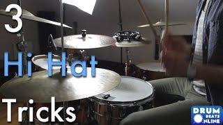 getlinkyoutube.com-3 Of The Best Hi Hat Tricks - Drum Lesson | Drum Beats Online