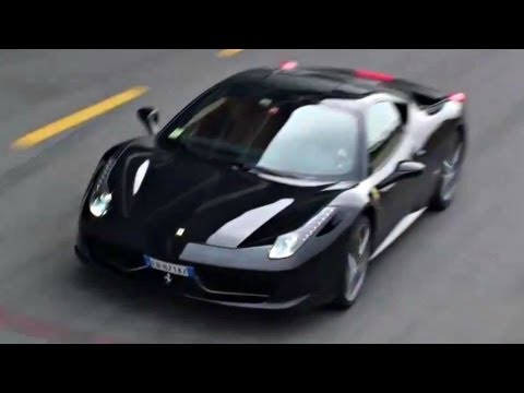 Many Ferrari 458 Italia Sounds - Start Ups, Accelerations and Downshifts