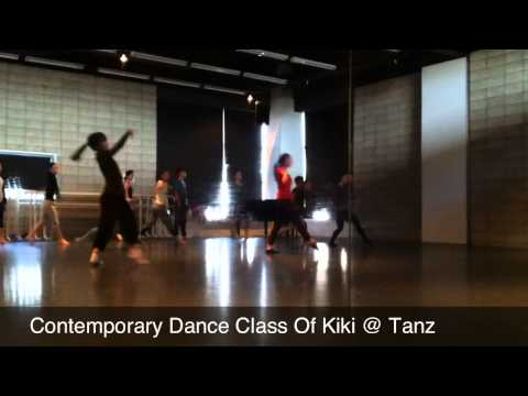 Contemporary Dance Class Of Kiki @ Tanz