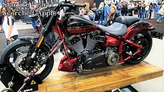 getlinkyoutube.com-2017 CVO Pro Street Breakout Harley-Davidson │All 3 Colors Shown