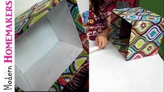 getlinkyoutube.com-How To Cover A Box With Fabric