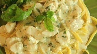 getlinkyoutube.com-Creamy Chicken Pasta Recipe