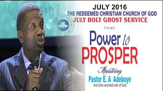getlinkyoutube.com-Pastor E.A Adeboye Sermon At RCCG July 2016 HOLY GHOST SERVICE