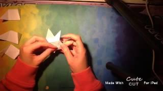 getlinkyoutube.com-How to make paper 2*2 Rubik's cube (origami) كيف تصنع مكعب روبيك من الورق