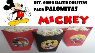 getlinkyoutube.com-COMO HACER BOLSITAS PARA PALOMITAS O PAPAS MICKEY MOUSE