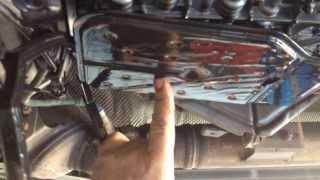 getlinkyoutube.com-Mercedes C 320 cdi. Manutenzione al cambio automatico 722.9