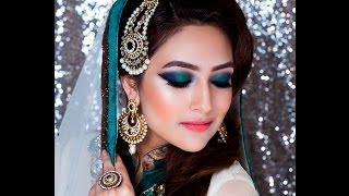getlinkyoutube.com-Zoebia Majeed mua ,Asian /Pakistani nikkah bridal makeup