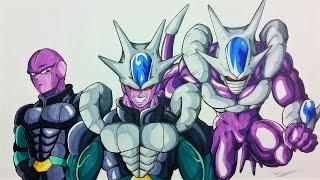 getlinkyoutube.com-Drawing COOLHIT | Hit & Cooler FUSION | Dragonball Z & Super | TolgArt