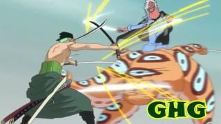 getlinkyoutube.com-One Piece AMV Roronoa Zoro vs  Random Gyogin & Hyouzou (We´re all to  Blame Sum 41) Complete Fight