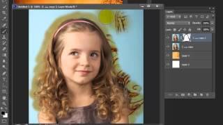 getlinkyoutube.com-قص الشعر المتموج الكيرلي بطريقة سهلة واحترافية وسريعة  درس فوتوشوب cs6