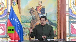 Maduro critica a la oposición por retirarse de las elecciones municipales