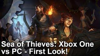 Sea of Thieves - Xbox One vs PC Graphics Comparison