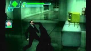 Matrix Path of Neo Detonado - ps2 ''defendento o chaveiro sem narrar'' (33)