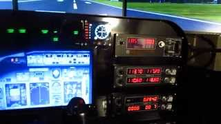 getlinkyoutube.com-How to build a FSX home cockpit. Full Saitek Pro Flight Setup with multple monitors.