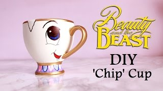 getlinkyoutube.com-DIY 'Chip' Cup   BEAUTY AND THE BEAST