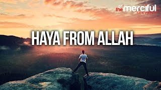 getlinkyoutube.com-Haya From Allah - (To Stop Sinning)