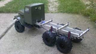 getlinkyoutube.com-RC Trial KrAZ 255B 1:10 RC Build