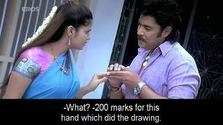 getlinkyoutube.com-Tamil actor checking out women - Ayntham Padai