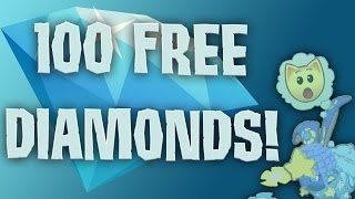 getlinkyoutube.com-INSANE ANIMAL JAM GLITCH! 100 FREE DIAMONDS