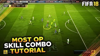 MOST OVERPOWERED SKILL COMBO to USE in FUT CHAMPIONS & DIVISION 1! FIFA 18 TUTORIAL - TIPS & TRICKS width=