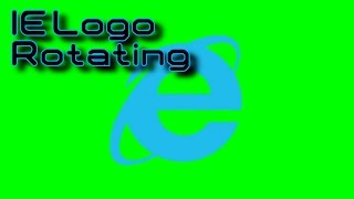 getlinkyoutube.com-Internet Explorer Logo Rotating (Green Screen) Free Download