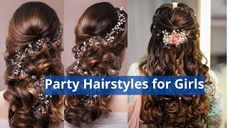 getlinkyoutube.com-Latest Hair Style for Party Functions Events 2014