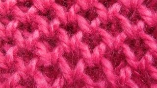getlinkyoutube.com-Knitting Pattern | Honeycomb design