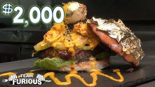 getlinkyoutube.com-Eating The World's Most Expensive Burger ($2,000)