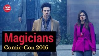 SDCC 2016: Hale Appleman e Summer Bishil de The Magicians
