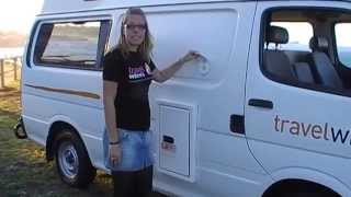 getlinkyoutube.com-Australia's most popular campervan for hire 2 to 5 people | Travelwheels campervans