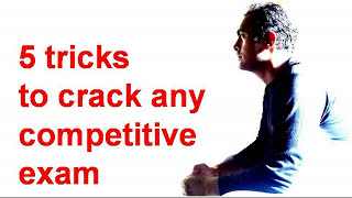 5 tricks to crack any competitive exam (In Hindi)