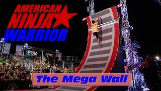 The 19' Mega Wall (Warped Wall) - American Ninja Warrior 2017 All Star Special