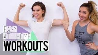 getlinkyoutube.com-Workouts for People Who Hate Working Out ft. Blogilates!