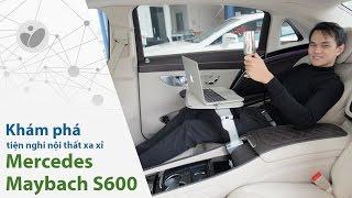 getlinkyoutube.com-Tinhte.vn - Trên tay những trang bị xa xỉ trên Mercedes-Maybach S600