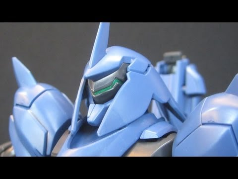 HG Gafran (Part 1: Unbox) Gundam Age - Unknown Enemy gunpla review