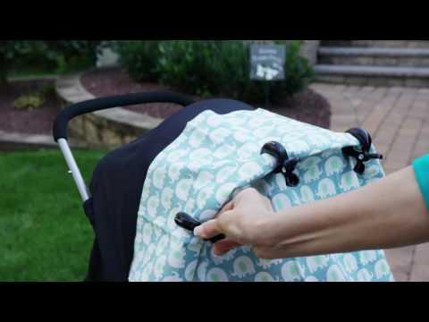 Dreambaby Stroller Clips 4 Pack - Black