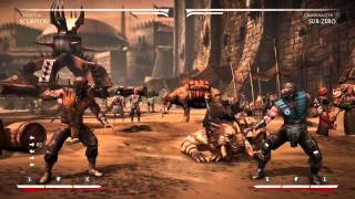 getlinkyoutube.com-MKX Tutorial - How to buffer in run cancels to extend block punishment