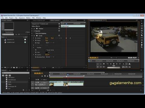 Premiere Pro CS5 - Destacando Objeto em Cena (HD).